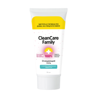 Очищающий гель с антибактериальным эффектом CleanCare Family 75мл