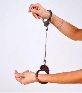 Эксклюзивные наручники со сменными цепями (Be Mine)