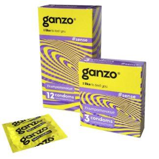Презервативы GANZO SENSЕ (Тонкие, 3 шт. в упаковке)