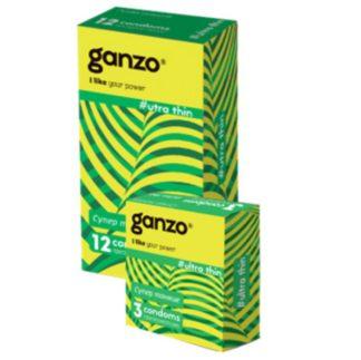 Презервативы GANZO Ultra thin (Ультра тонкие, 3 шт. в упаковке)