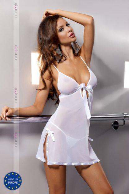 Сорочка прозрачная Kea white (Casmir)