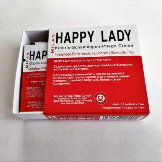 """Интимный крем для женщин """"Хеппи Леди"""" (Happy Lady)  10 шт."""