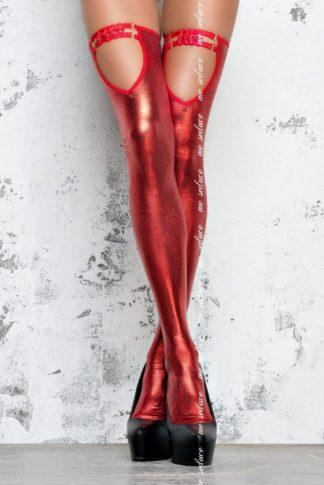 Чулки госпожи красные (Me Seduce)